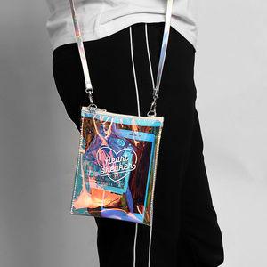 300da8d0e6d5 Heart Breaker Holographic Bag Rave fashion Boutique